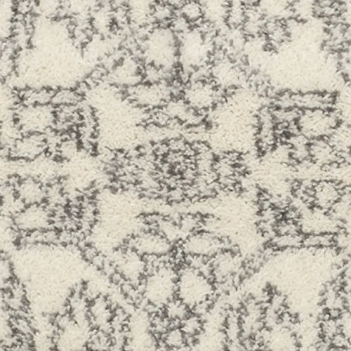 Safavieh Adirondack Collection ADR108B Ivory and Silver Oriental Vintage Area Rug (3′ x 5′)