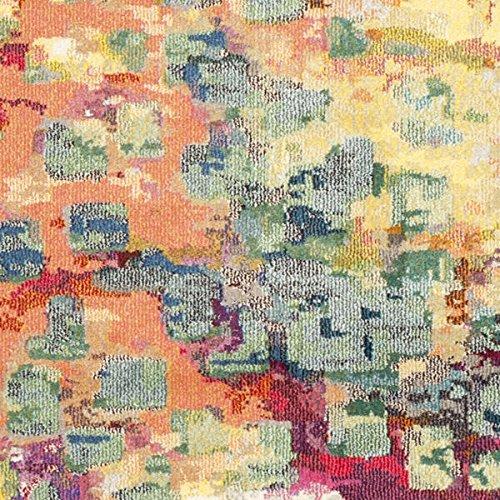 Safavieh Monaco Watercolor Vintage Pink/ Multi Rug (9′ x 12′) Machine-Made