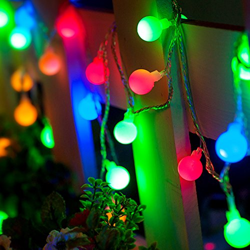 where can i buy string lights for my bedroom progreen outdoor string lights 18 7ft 40 led waterproof 21349